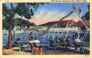 Kidd Springs in the 40s